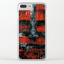 Never be blinded by reality Clear iPhone Case