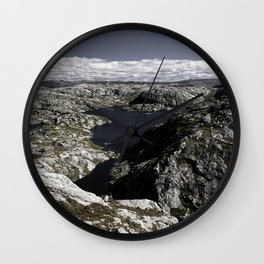 Sirdal Landscape 2, Norway Wall Clock