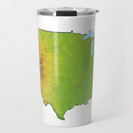 Physically United States Travel Mug