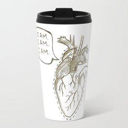 The Brag of My Heart Travel Mug