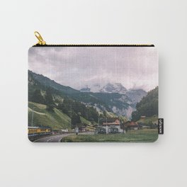 Swiss Train Ride Carry-All Pouch