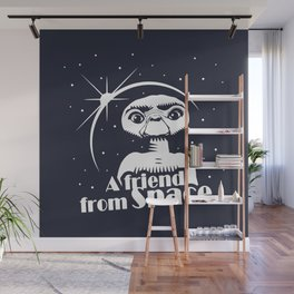 ET the Extraterrestial: A friend from Space Wall Mural