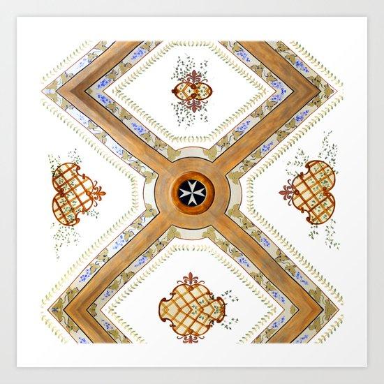 A Glass Ceiling Art Print