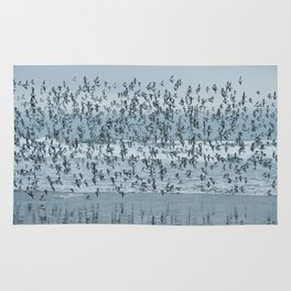 Sandpipers at the Beach Rug