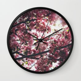 Flower Photography by Jessica Fadel Wall Clock
