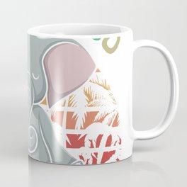 Let that Shit Go Elephant Gifts Elephant Lovers Namaste Yoga T-Shirt Coffee Mug