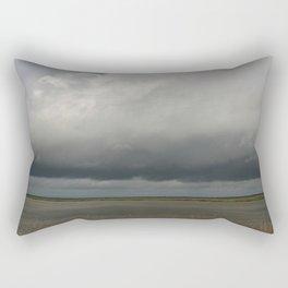 Clouds Over The Marsh Rectangular Pillow