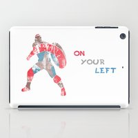 steve rogers iPad Cases featuring Steve Rogers (CA) - White Background by MajesticSeahawk Designs
