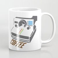 polaroid Mugs featuring polaroid  by Burnish and Press