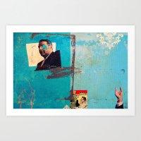 greek Art Prints featuring Greek by Alec Goss