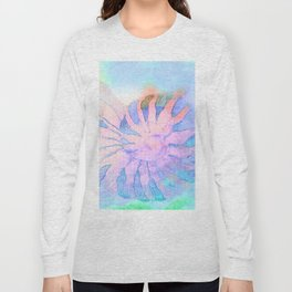 NAUTILUS CONCH SEA SHELL IMPRESSION Long Sleeve T-shirt