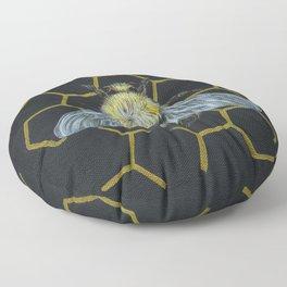 Bumble Bee Floor Pillow