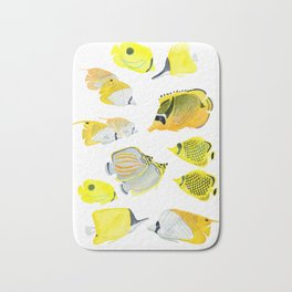 Butterflyfish Bath Mat