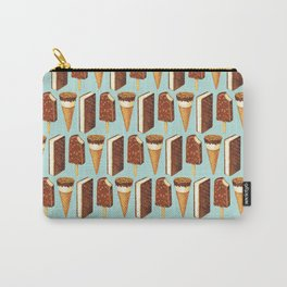 Ice Cream Pattern - Popsicles Carry-All Pouch