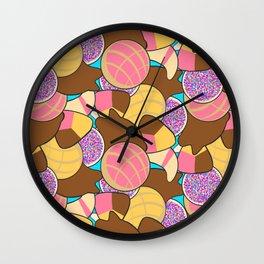 Pan Dulc Overload Wall Clock