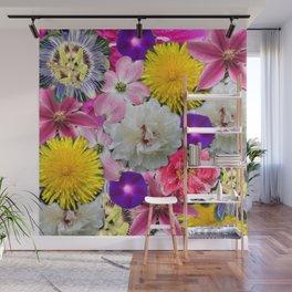 flowers amok! Wall Mural