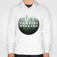 vampire weekend Hoodies featuring Vampire Weekend trees logo by Elianne