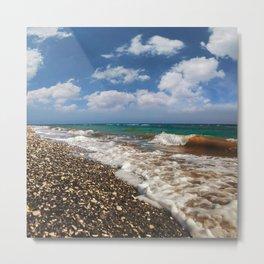 BEACH DAYS XV Metal Print