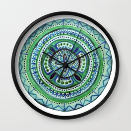 Mexican Dawn Wall Clock