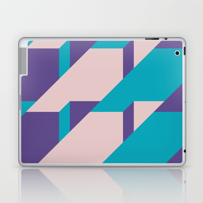Abstract Glow #society6 #glow #pattern Laptop & iPad Skin
