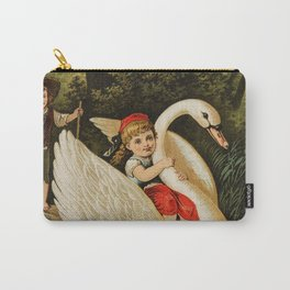 Hansel & Gretel With Swan Carry-All Pouch
