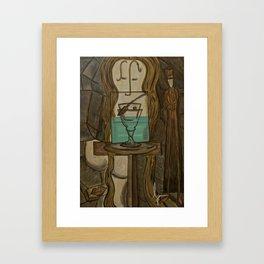 L'Absinthe Framed Art Print