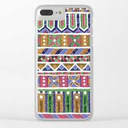 Mosaic N°1 Clear iPhone Case