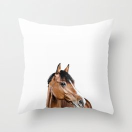 I <3 my horse Throw Pillow