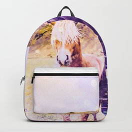 Southwest Horse Ranch Horses Backpack
