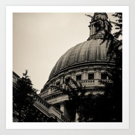 St Paul's Cathedral. Art Print