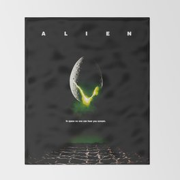 Alien Throw Blanket