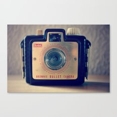 Little brownie bullet Canvas Print
