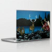 mythology Laptop & iPad Skins featuring Inuit Mythology: Chapter 1, part 11 by Estúdio Marte