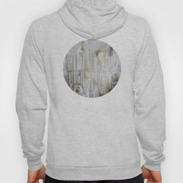 Metallic Abstract Hoody