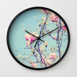 Sweet magnolia 2 Wall Clock