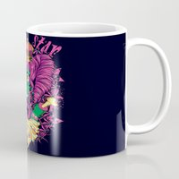 lsd Mugs featuring LSD Zombie star by Tshirt-Factory