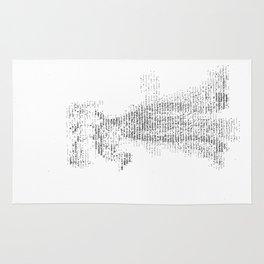 ASCII Lyrebird Rug