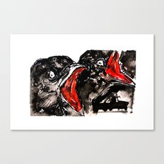 Crow Mouth Canvas Print