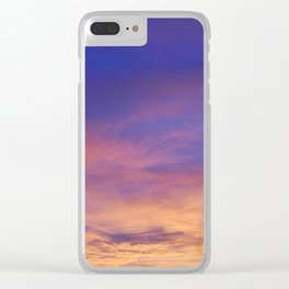 COME AWAY WITH ME - Autumn Sunset #1 #art #society6 Clear iPhone Case