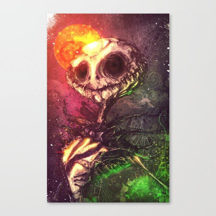 The Pumpkin King Canvas Print
