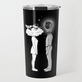 Day Dreamer Meets Night Thinker Travel Mug