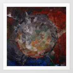 Circle Distortions #1 Art Print