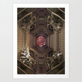 Space Checkpoints TA KentPress Art Print