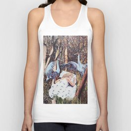 Sleeping Beauty Unisex Tank Top