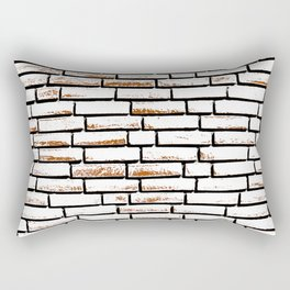 Brick wall 1 Rectangular Pillow