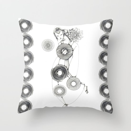 Back to Work  Throw Pillow