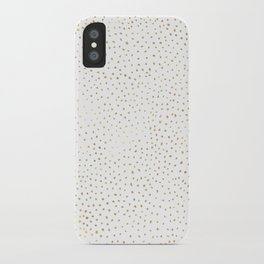 Dotted Gold iPhone Case