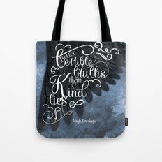 Six of Crows book quote design Tote Bag