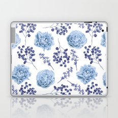 Sky Blue Roses Laptop & iPad Skin