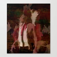 native Canvas Prints featuring Native by Christy Leigh